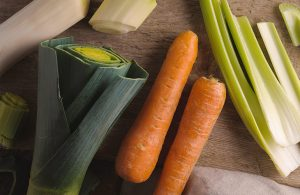 Bio-Veganes Suppengrün